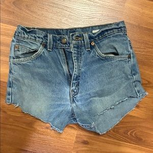 Levi's Jean shorts. Never worn.